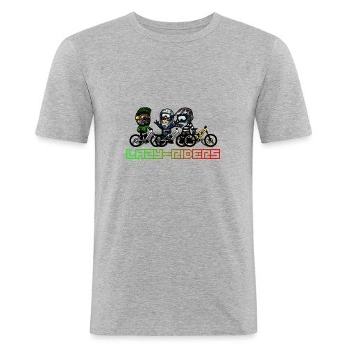 LAZY-RIDERS - Männer Slim Fit T-Shirt