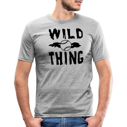 Wild Thing - Men's Slim Fit T-Shirt