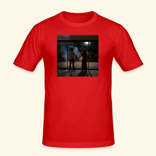 Mum look at me, I'm really okay. - T-shirt près du corps Homme