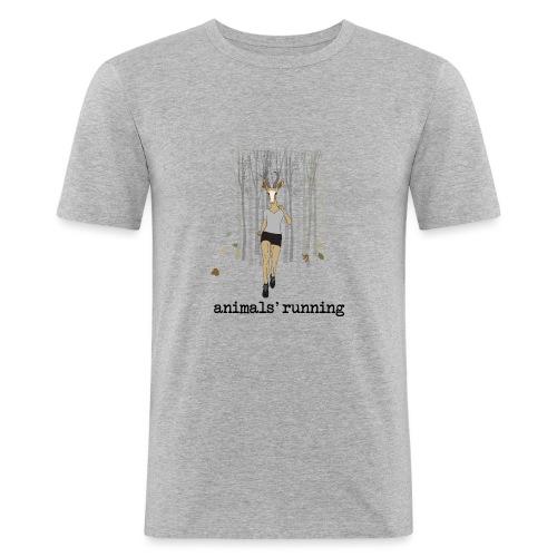 Antilope running - T-shirt près du corps Homme