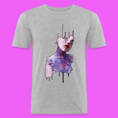 icream girl - Camiseta ajustada hombre