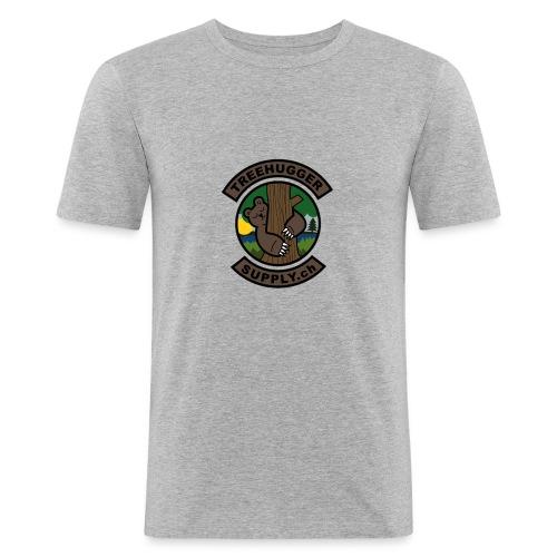Treehuggersupply Classic - Männer Slim Fit T-Shirt