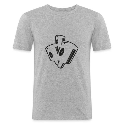 graffiti fat caps x3 ver.0.1 - Herre Slim Fit T-Shirt