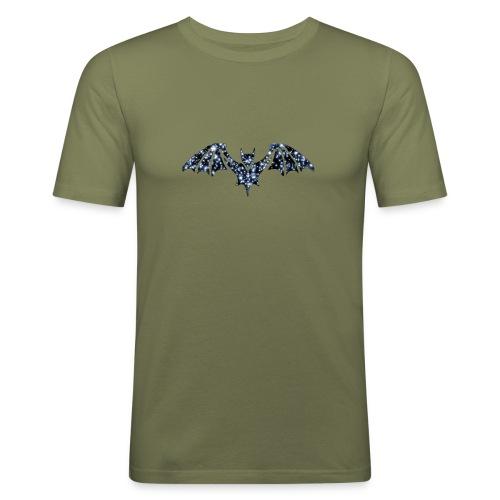 Galaxy BAT - Men's Slim Fit T-Shirt