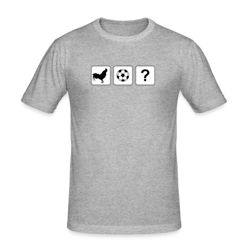 Cock or Ball Official Logo - Men's Slim Fit T-Shirt
