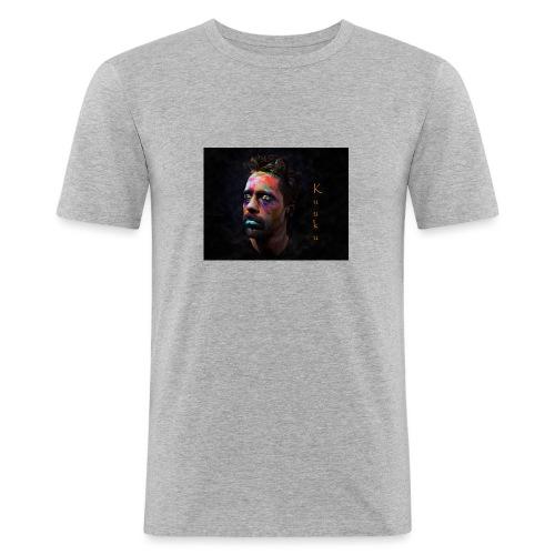 Kuuku - Miesten tyköistuva t-paita
