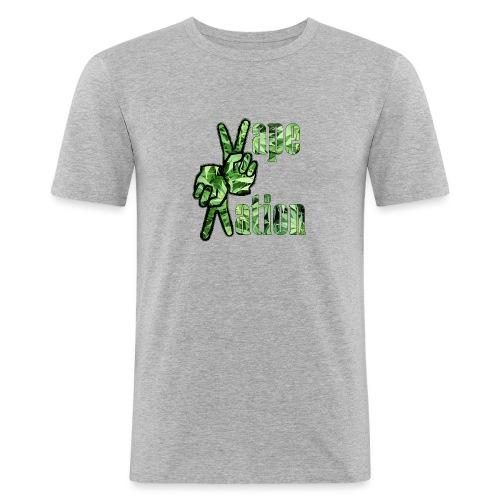 Vape Nation - Männer Slim Fit T-Shirt