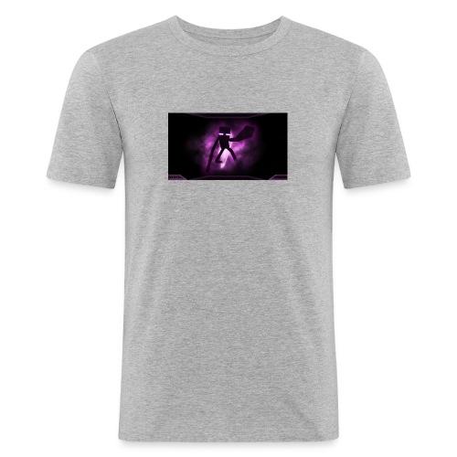 Cake sy LP Mech Enderman - Männer Slim Fit T-Shirt