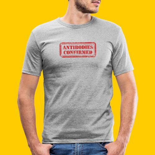 Antibodies Confirmed - Slim Fit T-shirt herr