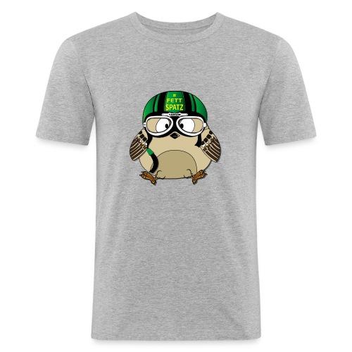 Fettspatz SAMSON - Männer Slim Fit T-Shirt