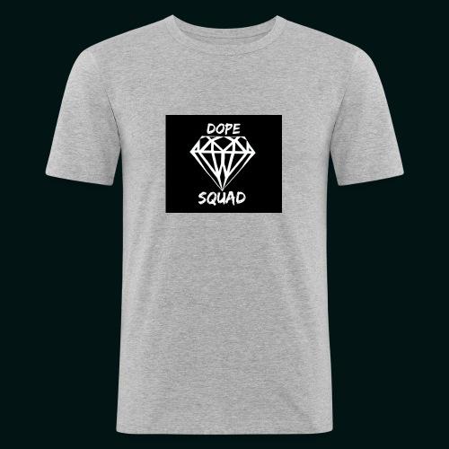 Dope Squad dames zwart - Mannen slim fit T-shirt