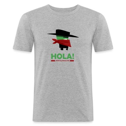Greengo Hola - Mannen slim fit T-shirt