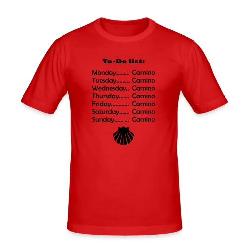 To-do list: Camino - Herre Slim Fit T-Shirt