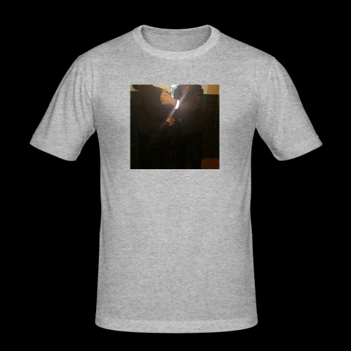 freegia - Herre Slim Fit T-Shirt