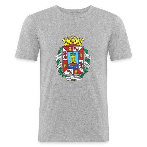 Escudo Cartagena - Camiseta ajustada hombre