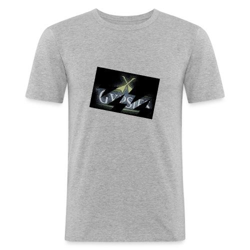 GYPSIES BAND LOGO - Men's Slim Fit T-Shirt
