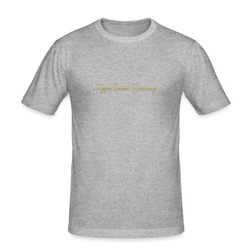 HBG Cool Handwriting - Men's Slim Fit T-Shirt
