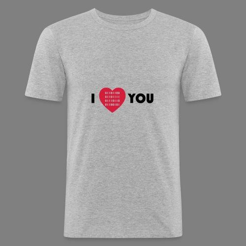 i love you - Männer Slim Fit T-Shirt