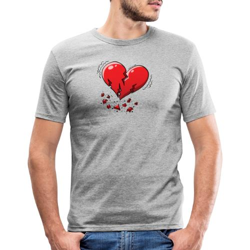 Heartquake - Men's Slim Fit T-Shirt