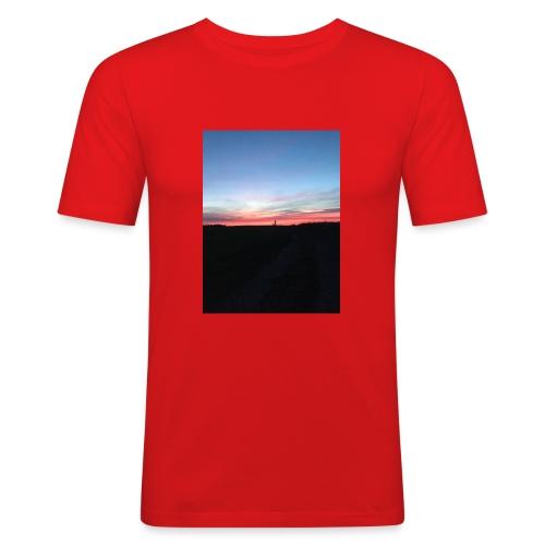 late night cycle - Men's Slim Fit T-Shirt