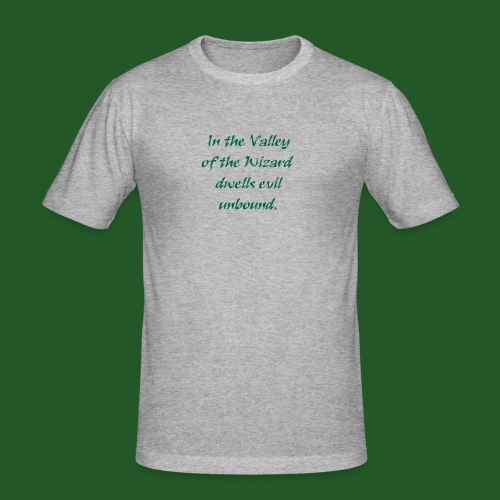 In_Valley_of_the_Wizard-png - Men's Slim Fit T-Shirt
