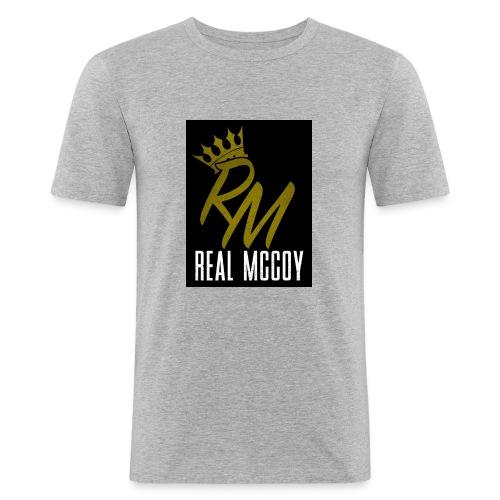 RM LOGO - Men's Slim Fit T-Shirt