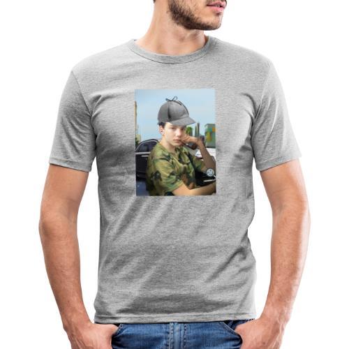 Detektiv Laurin - Männer Slim Fit T-Shirt