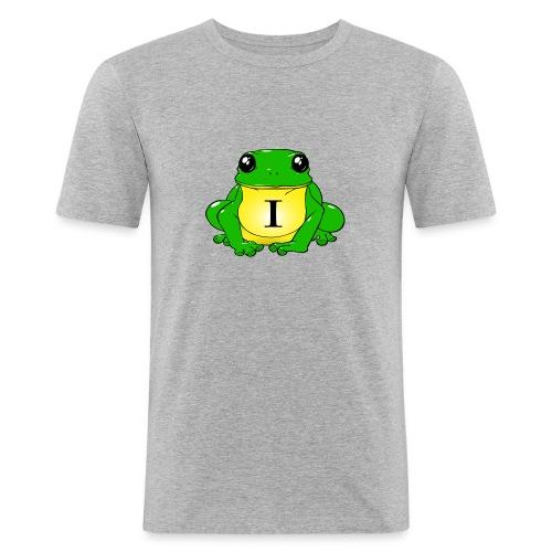 IndirectHat -LOGO- - Maglietta aderente da uomo