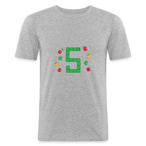 Serpent Tetris - T-shirt près du corps Homme