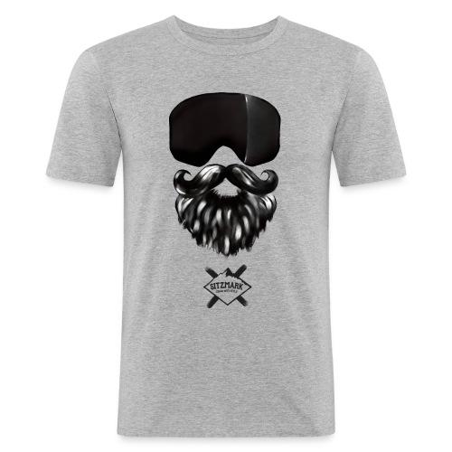 Beard mask - Camiseta ajustada hombre