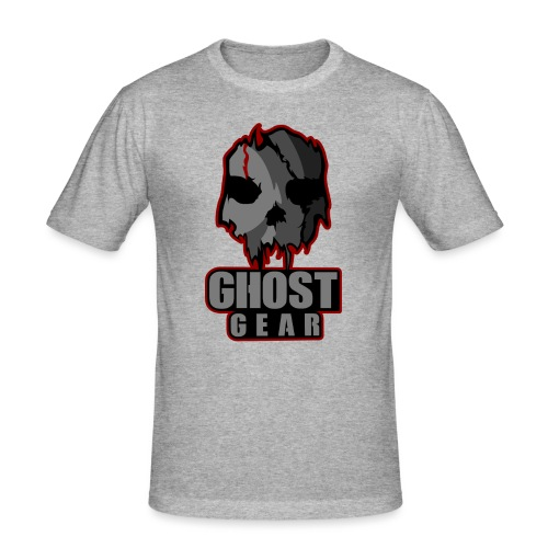 Ghost Gear Skull - Men's Slim Fit T-Shirt