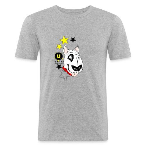 UNIK BULL TERRIER - Maglietta aderente da uomo
