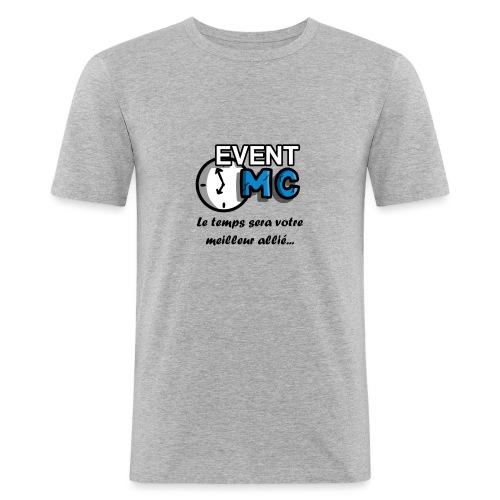 EventMCboutique - T-shirt près du corps Homme