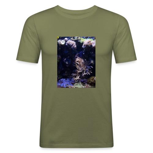 Sea Life - Miesten tyköistuva t-paita