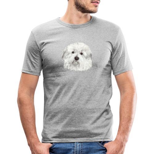 coton-de-tulear - Herre Slim Fit T-Shirt