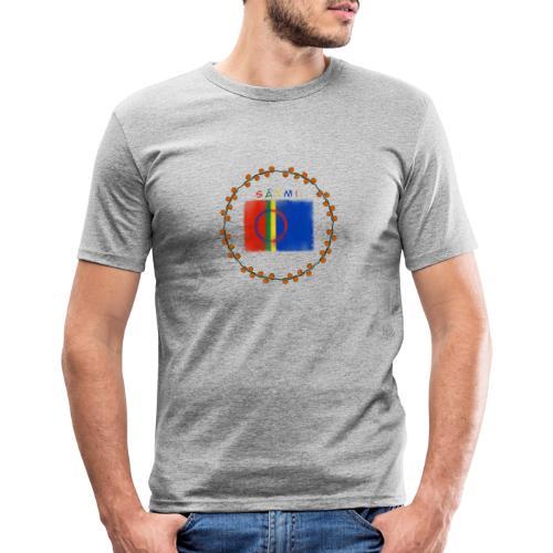 Sapmi - Slim Fit T-skjorte for menn