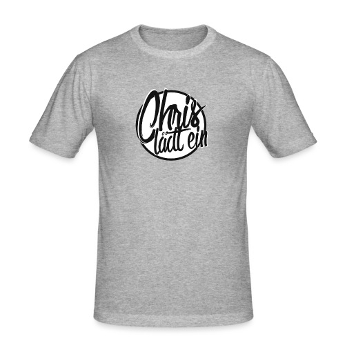 Chris lädt ein - Männer Slim Fit T-Shirt