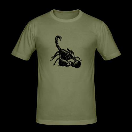 Nether Scorpion - Maglietta aderente da uomo