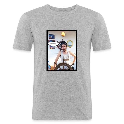 aquaquarium bonjour - T-shirt près du corps Homme