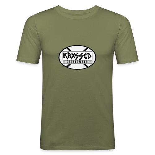 KRXSSED BASIC II - Mannen slim fit T-shirt