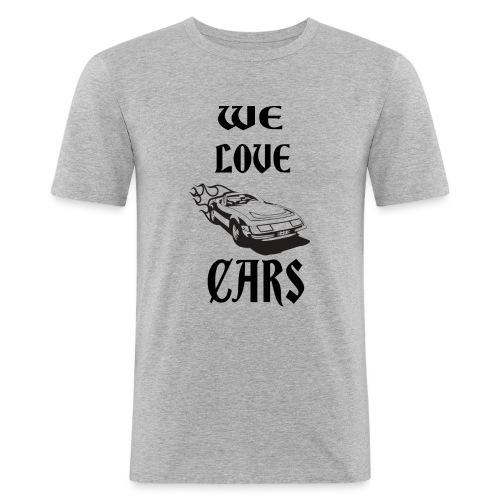 auto fahrzeug garage - Männer Slim Fit T-Shirt