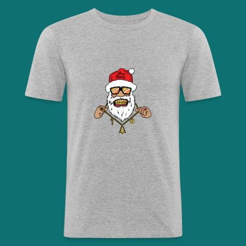 Dope Santa - Maglietta aderente da uomo