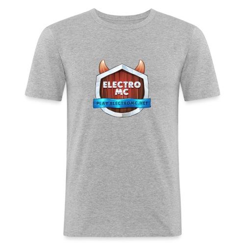 ElectroMC Logo - Mannen slim fit T-shirt