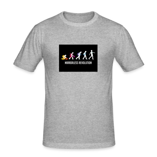 mirrorless evolution - Camiseta ajustada hombre