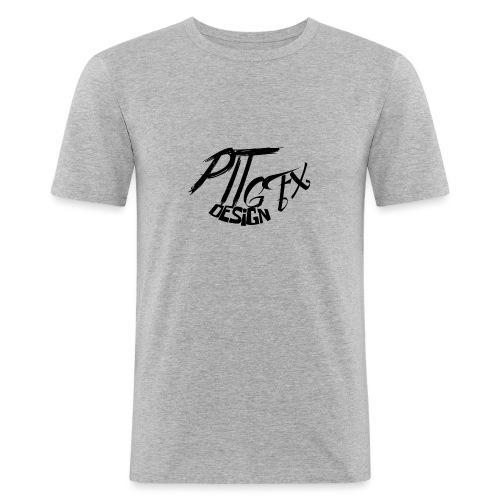 PitGFX Design Official T-Shirt - Maglietta aderente da uomo