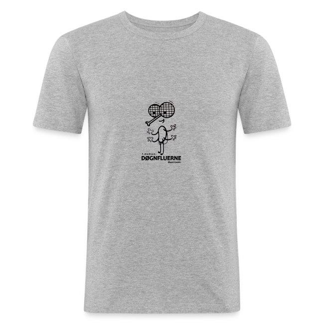 Døgnfluerne Short Comic Simpelt Logo Design.
