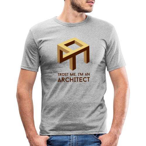 Trust me, I'm an Architect - Miesten tyköistuva t-paita