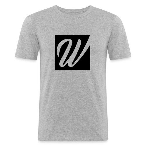 W only W!!!! - Männer Slim Fit T-Shirt