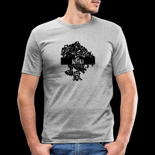 KCD Small Print - Men's Slim Fit T-Shirt