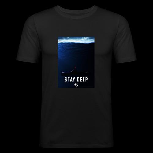 Stay Deep T-shirt - Maglietta aderente da uomo